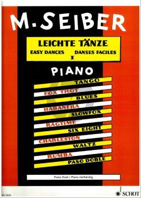 Leichte Tanze (Tango, Fox Trot, Blues, Habanera, S)