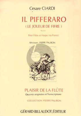Ciardi Il Pifferaro Op. 122 Flute and Harp (Pierre Paubon)