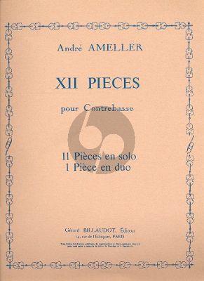 Ameller 12 Pieces pour Contrebasse seule