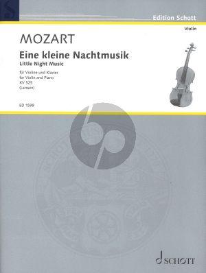Mozart Eine Kleine Nachtmusik KV 525 Violine und Klavier (Larssen)