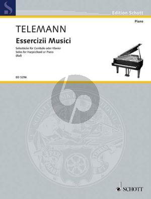 Essercizii Musici - Soli fur Cembalo