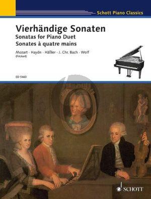 Album Vierhandige Sonaten / Sonatas for Piano Duet (Herausgegeben von Walter Frickert)
