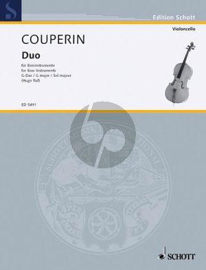 Couperin Duo G-major (2 Bass Instruments - Violoncellos)