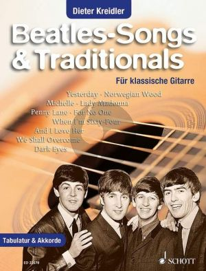 Beatles Songs & Traditionals Gitarre (Dieter Kreidler)