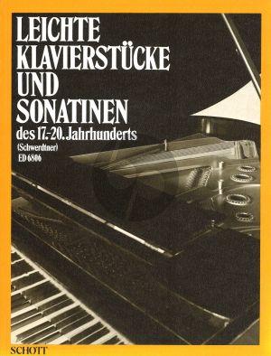 Leichte Klavierstucke und Sonatinen 17-20 Jahrhunderts