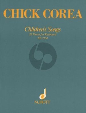 Corea Childrens Songs Piano