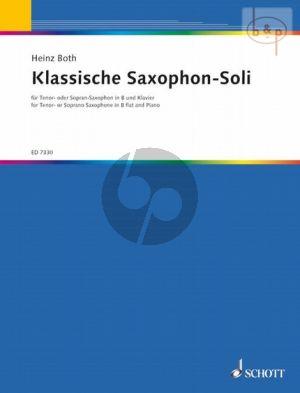 Klassische Saxophon-Soli