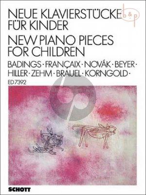 Neue Klavierstucke fur Kinder