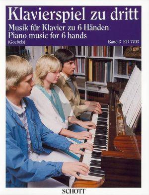 Klavierspiel zu Dritt vol.3 Klavier 6 Hd.