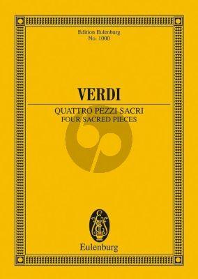 4 Pezzi Sacri Study Score
