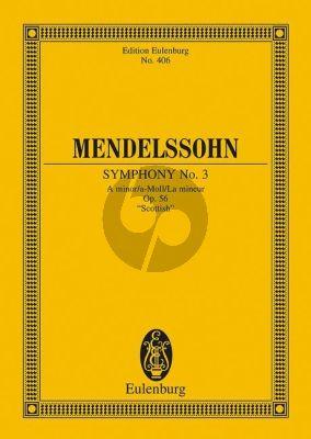 Mendelssohn Symphonie No.3 a-moll (Schottische) Studienpart. (ed. Martin Roddewig & Boris von Haken)