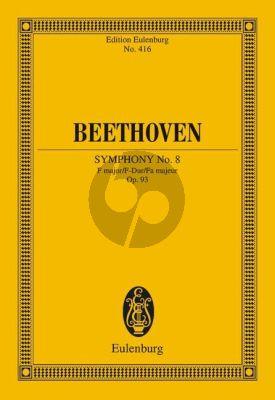 Symphony No.8 F-major Op.93 Study Score