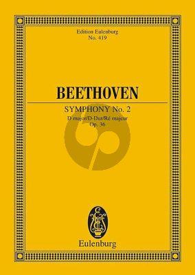 Symphony No.2 D-major Op.36 Study Score