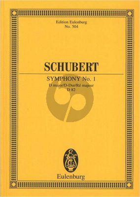 Schubert Symphonie No.1 D-dur D.82 Studienpartitur (Hermann Grabner)