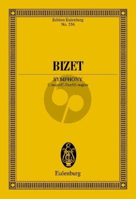 Bizet Symphony C-major Orchestra Study Score (edited by Hans-Hubert Schönzeler)