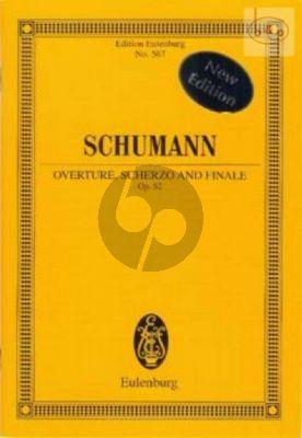 Ouverture, Scherzo and Finale Op.52 (Orch.) (Study Score)
