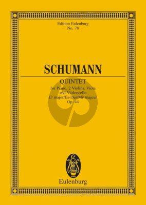 Schumann Quintet E-flat major Op.44 Piano-Strings Study Score