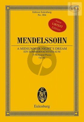 A Midsummer Night's Dream Op.61 5 Orchestral Pieces)