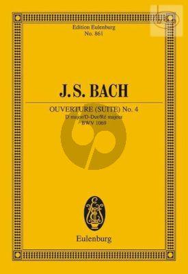 Ouverture (Suite) No.4 D-major BWV 1069 (Study Score)