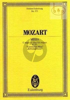 Missa C-major KV 317 (Kronungs-Messe) (Soli-Choir-Orch.) (Study Score)