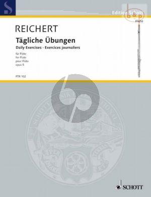 Reichert Tägliche Übungen Op.5 Flöte