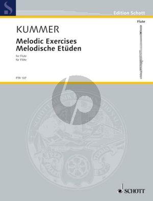 Kummer Melodische Etuden Op.110 Flöte