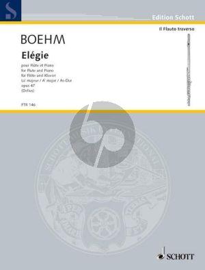 Boehm Elegie As-dur Op.47 Flöte und Klavier (Nikolaus Delius)