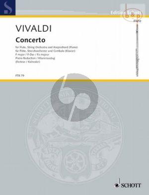 Concerto F-major Op.10 No.1 (PV 261 /RV 433) (La Tempesta di Mare) (Flute-Str.-Bc.)