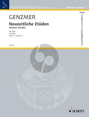 Neuzeitliche Etuden Vol.1 Flöte