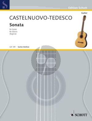 """Castelnuovo-Tedesco Sonata D-dur """"Omaggio a Boccherini"""" Gitarre (Andres Segovia)"""
