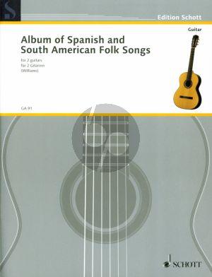 Spanish and South American Folksongs 2 Gitarren (Len Williams)