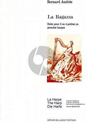 Andres La Ragazza 2 Harpes ou 4 Harpes (interm.level)