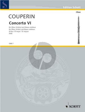 Couperin  Concerto No.6 B-flat major Oboe[Vi.]-Bc (Hugo Ruf)