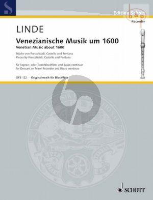 Venezianische Musik um 1600 Sopranblockflöte und Bc