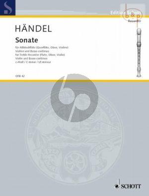 Sonate No.1 c-moll