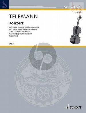 Concerto G-major TWV 52:G3