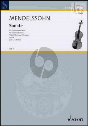 Sonata f-minor Op.4 Violine - Klavier