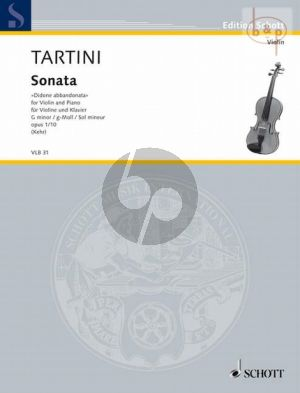 """Sonate g-moll Op.1 No.10 """"Didone Abbandonato"""""""