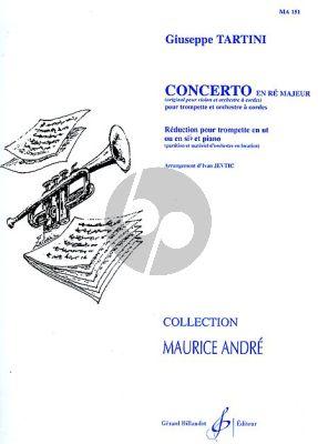 Tartini Concerto D-major Trumpet(C/Bb)-Piano