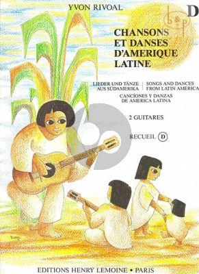 Chansons et Danses d'Amerique Latine:Vol.D