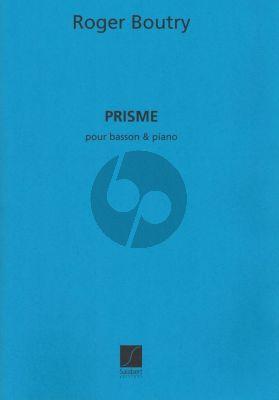 Boutry Prisme Basson-Piano