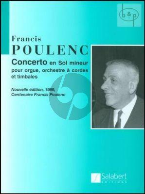 Concerto G-minor Poulenc F.