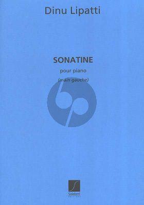 Lipatti Sonatine pour la Main Gaiche (for Left Hand Only)
