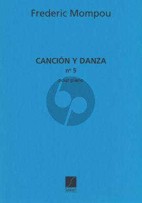 Mompou Cancion y Danza no.5 piano