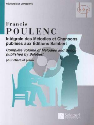 Melodies et Chansons pour Chant et Piano