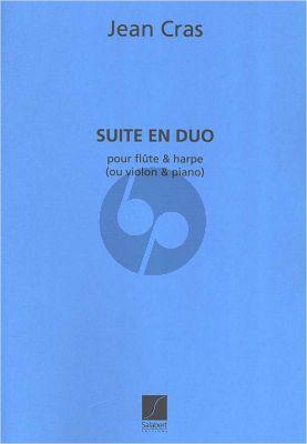 Cras Suite en Duo Harpe et Flûte (ou Violon-Piano)