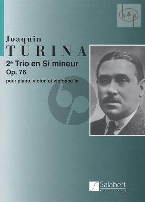 Turina Trio No.2 Op.76 B-flat Violin-Violoncello-Piano