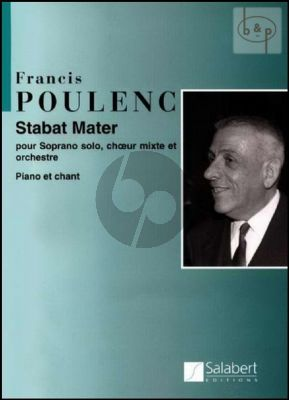 Stabat Mater (Soprano-SATB-Orch.)