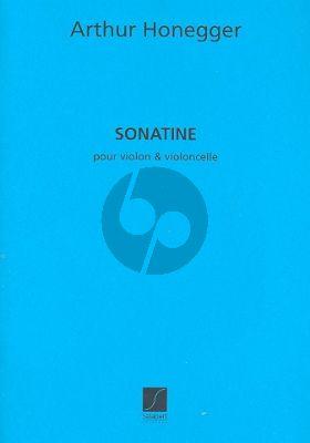 Sonatine H 80 Violon et Violoncelle