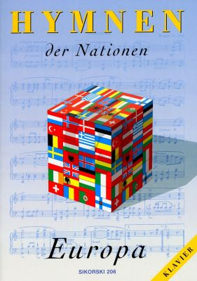 Album Hymnen der Nationen Europ fur Klavier Solo mit Text Beilage